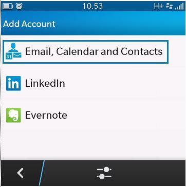 Setting Email IMAP dan SMTP di BlackBerry 10