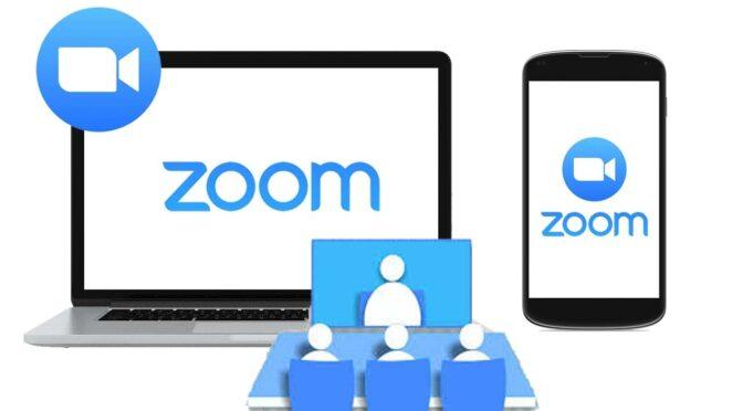 Menggunakan Aplikasi Meeting Zoom