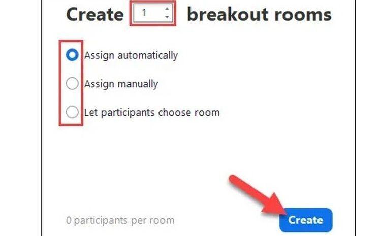 Cara menggunakan Breakout Rooms